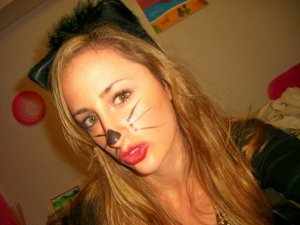 a cat, on the other hand, is a perfectly admirable costume choice
