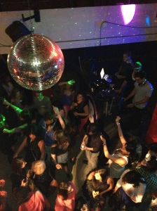 disco ball in la disco!!