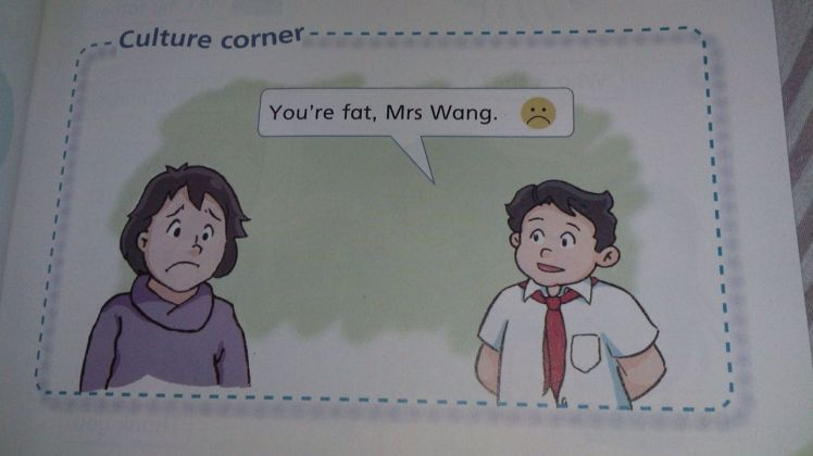 ummm apparently Mrs. Wang did! Yes, this was taken from an actual student's book and yes, that is the uniform my students wear
