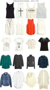 shirts + tops